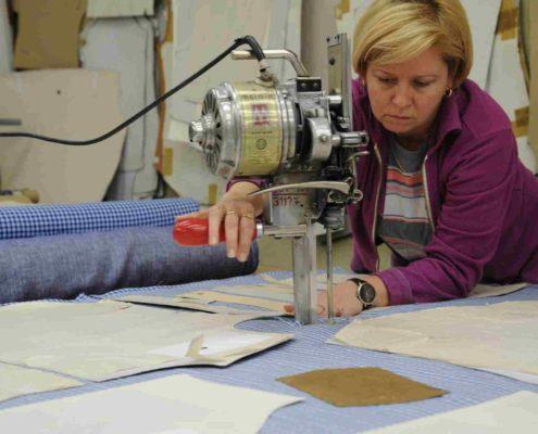 Hemd Fabrik AckelZuschnitt Stoff